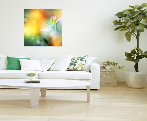 80x80cm Blumen Farbfilter