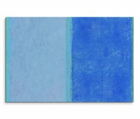 120x80cm Wandbild Malerei blau grau grün