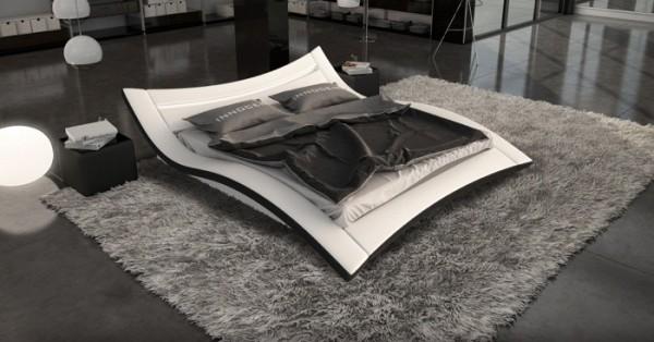Bett Seducce 140 x 200 cm Weiß