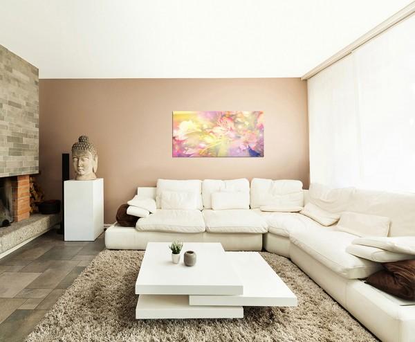 120x80cm Blüte Blume Hintergrund farbenfroh