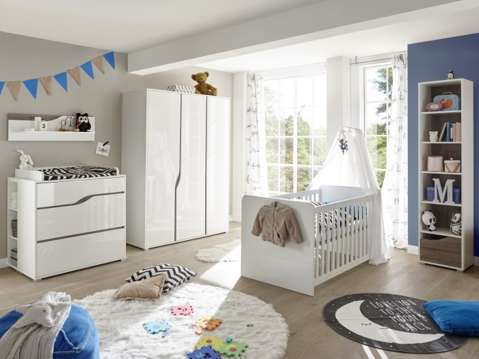 babyzimmer mara 7 teilig m bel. Black Bedroom Furniture Sets. Home Design Ideas