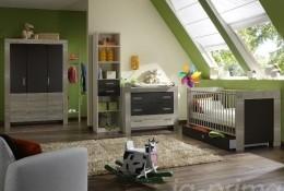 Babyzimmer Emily Graphit 8-teilig
