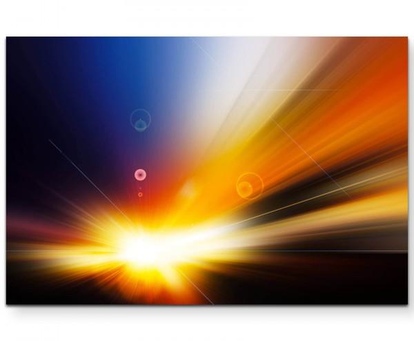 Farbenfrohes Licht - Leinwandbild