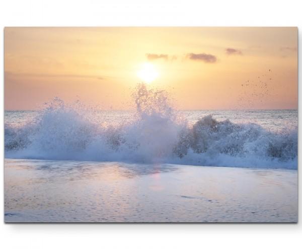 Stürmisches Meer - Leinwandbild
