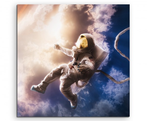 fliegen flugzeug technik reisen verreisen reiseder Astronaut auf Leinwand