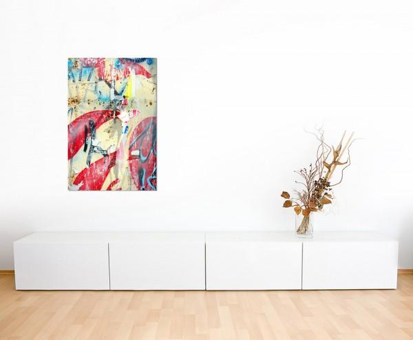 120x60cm Graffiti Poster Farben abstrakt