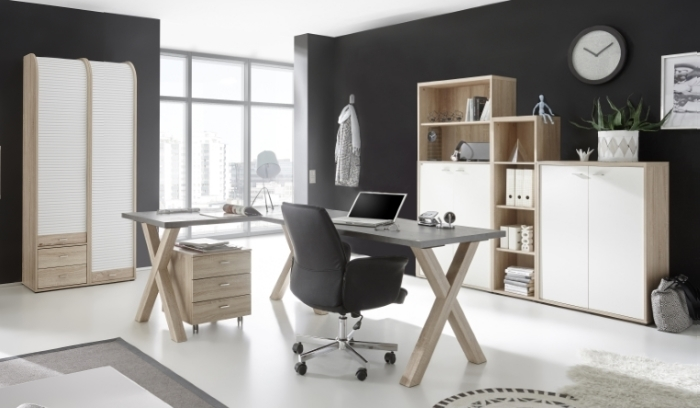 b ro mister office 7 teilig m bel. Black Bedroom Furniture Sets. Home Design Ideas