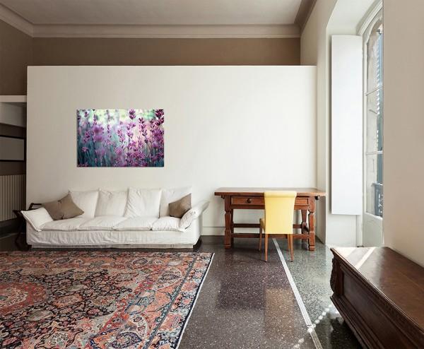 120x80cm Lavendelfeld