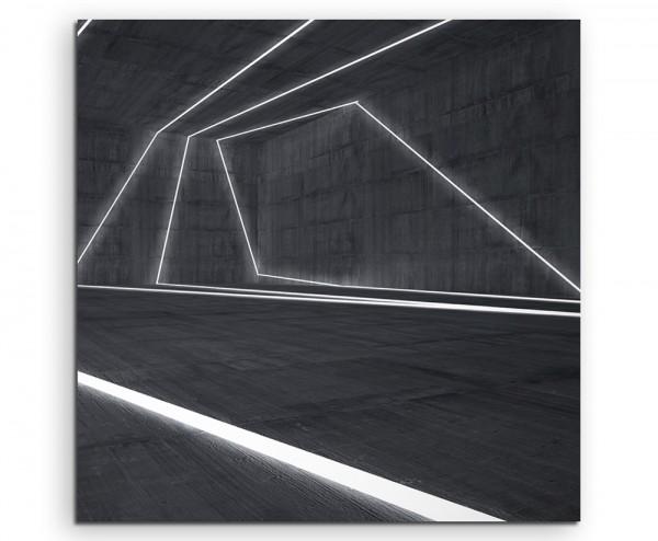 abstrakt modern chic chic dekorativ schön deko schön deko e Illustration – Leuchtende Linien auf Gra
