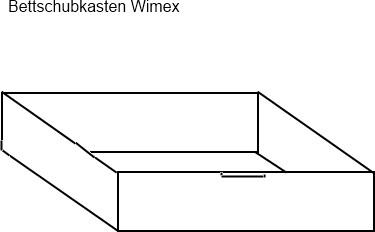 Bettschubkasten Babybett Wimex