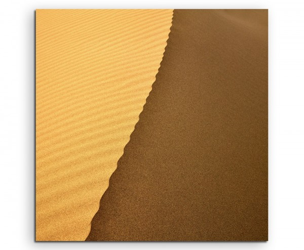 Landschaftsfotografie – Sanddüne auf Leinwand