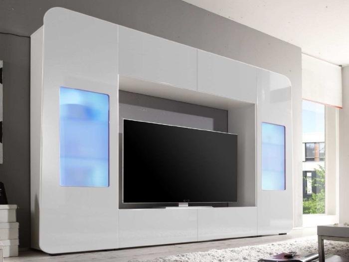 wohnwand kino m bel. Black Bedroom Furniture Sets. Home Design Ideas