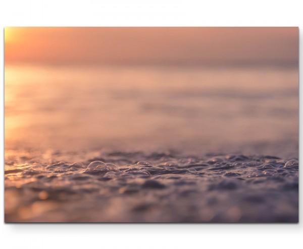 Nahaufnahme Wasser – Wellen - Leinwandbild