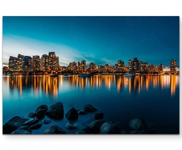 Skyline von Vancouver - Leinwandbild