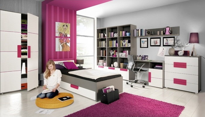 jugendzimmer libelle 9tlg m bel. Black Bedroom Furniture Sets. Home Design Ideas