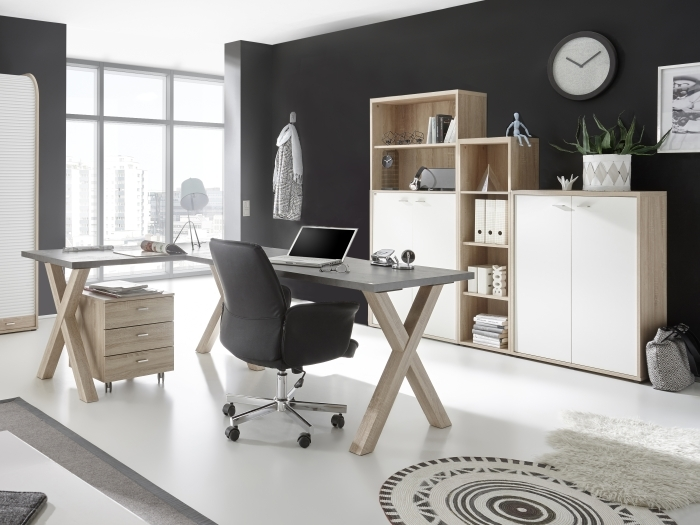 b ro mister office 5 teilig ii m bel. Black Bedroom Furniture Sets. Home Design Ideas