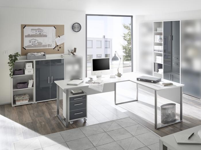 b rom bel office line luxo 6 teilig m bel. Black Bedroom Furniture Sets. Home Design Ideas