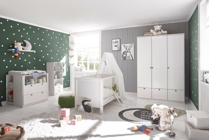 babyzimmer landhaus babyzimmer m bel. Black Bedroom Furniture Sets. Home Design Ideas