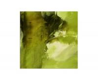 80x80cm Gemälde grün abstrakt