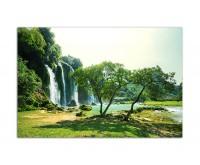120x80cm Ban-Chioc-Detain Wasserfall Vietnam