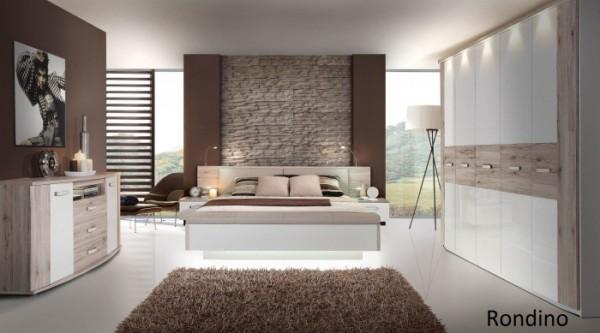 Schlafzimmer Rondino mit Drehtürenschrank