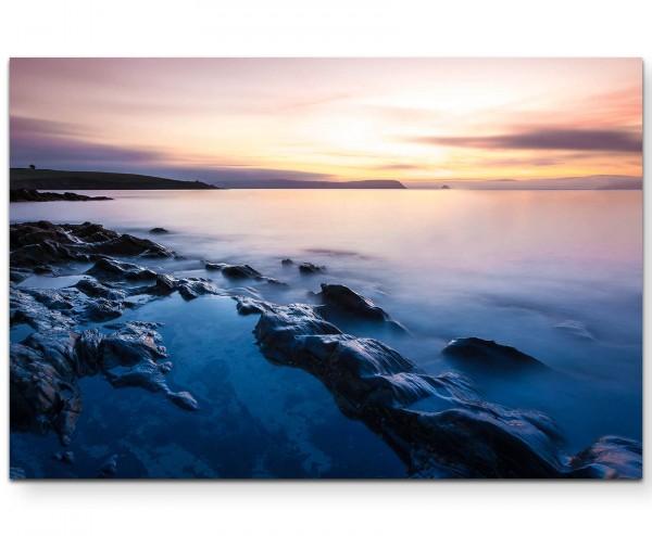 Cornwall Beach - Leinwandbild