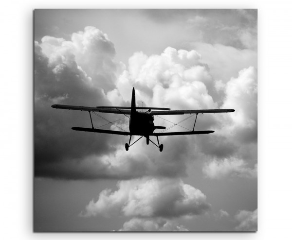 Künstlerische Fotografie – fliegen flugzeug technik reisen verreisen reise in Wolkenlandschaft auf L