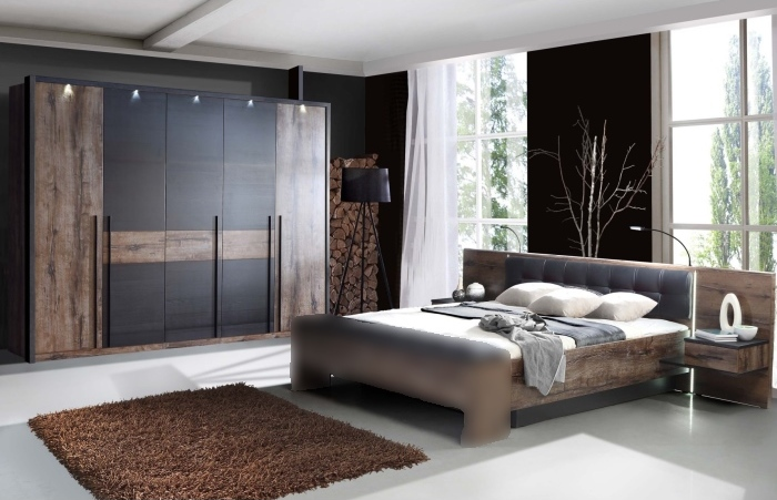 schlafzimmer bellevue mit dreht renschrank 2teilig m bel. Black Bedroom Furniture Sets. Home Design Ideas