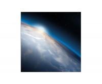 80x80cm Planet Erde Weltraum Sonne