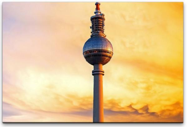 Berliner Fernsehturm Wandbild in verschiedenen Größen