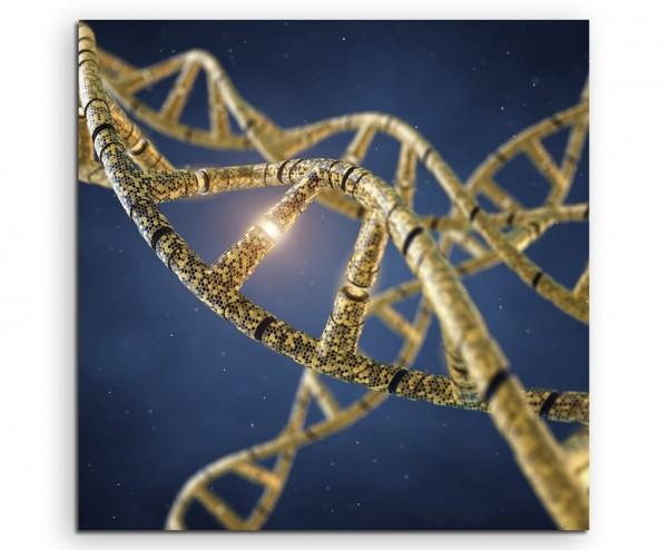 Wissenschaftliche Abbildung – Genetisch veränderte DNA auf Leinwand
