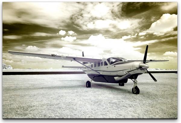 Vintage Flugzeug Wandbild in verschiedenen Größen