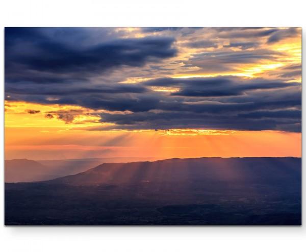 Sonnenuntergang Phetchabun - Leinwandbild