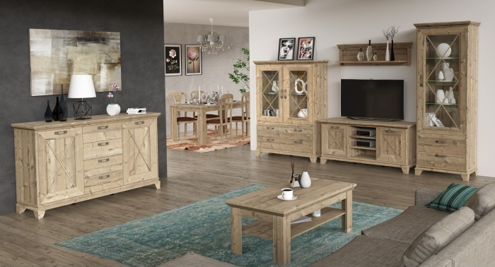 wohnwand nepal 5 teilig m bel. Black Bedroom Furniture Sets. Home Design Ideas