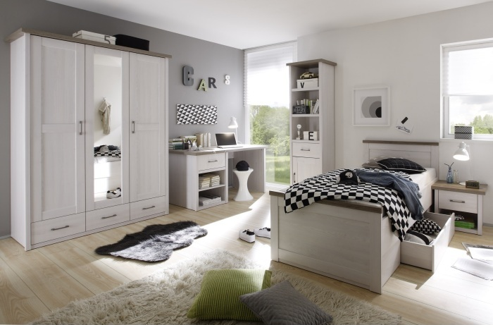 jugendzimmer luca 5 tlg m bel. Black Bedroom Furniture Sets. Home Design Ideas