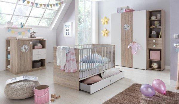 Babyzimmer Saskia 8 tlg.