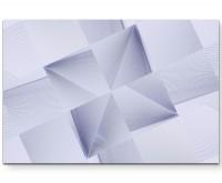 modernes Design – Quadrate in abstrakter Anordnung - Leinwandbild