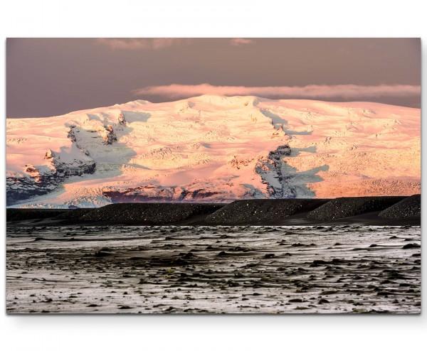 Fjord Landschaft – Berge - Leinwandbild