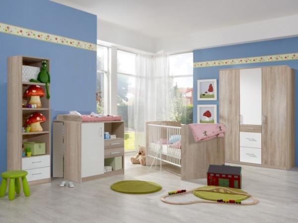 Babyzimmer Nicki 5tlg. mit 3trg. Schrank