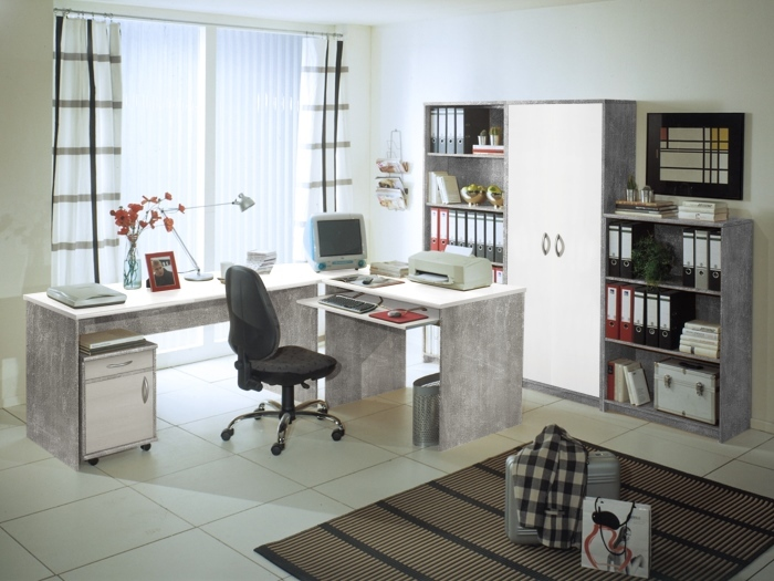 b rom bel office compact sparset m bel. Black Bedroom Furniture Sets. Home Design Ideas