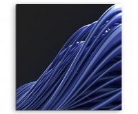 Naturfotografie – abstrakt modern chic chic dekorativ schön deko schön deko e dunkelblaue Linien au