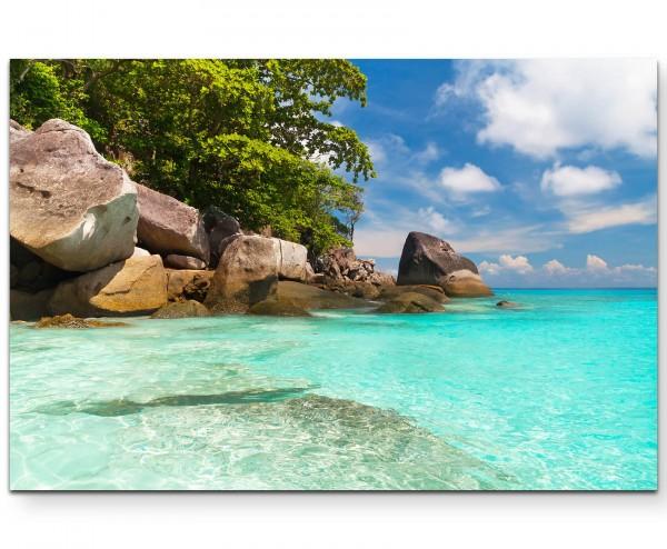 Landschaftsfotografie – Similan Islands Thailand - Leinwandbild