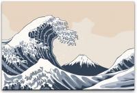 japanisches Gemälde Wandbild in verschiedenen Größen