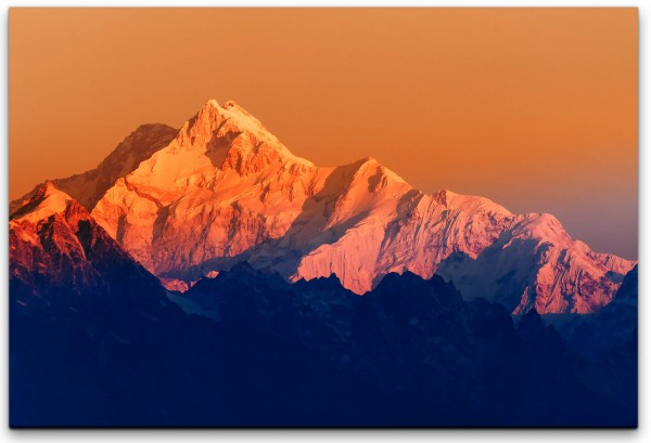 Mount Kanchenjugha Himalaya Wandbild in verschiedenen Größen