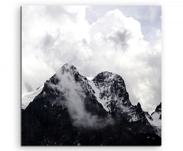 Landschaftsfotografie – Szenische Berglandschaft auf Leinwand