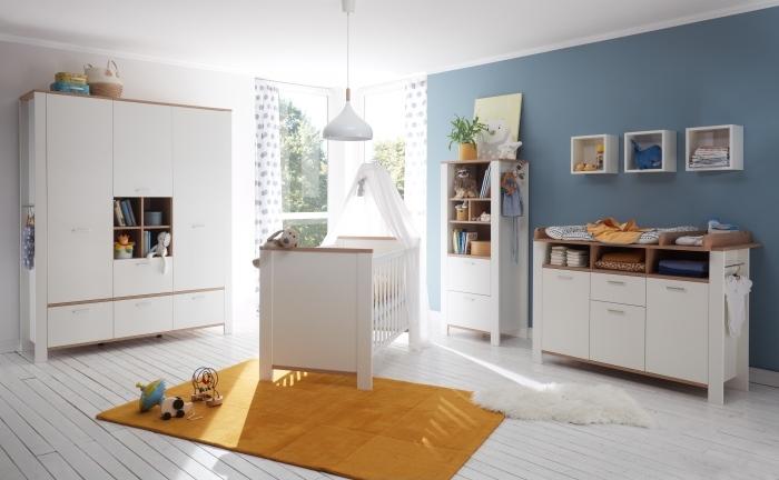 Babyzimmer Adele in Weiß- Asteiche 7teiliges Megaset von Mäusbacher zum Toppreis!