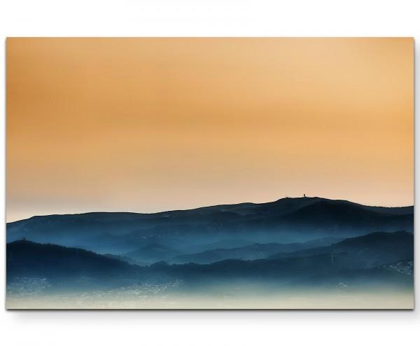 Berglandschaft in Spanien – Sonnenuntergang - Leinwandbild