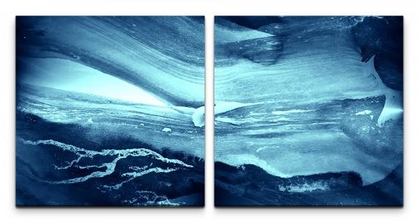blaues Wasser Wandbild in verschiedenen Größen