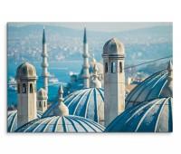 120x80cm Wandbild Istanbul Süleymaniye Moschee