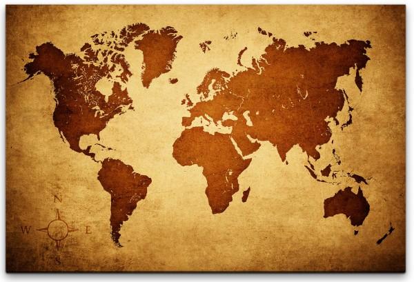 Landkarte Wandbild in verschiedenen Größen